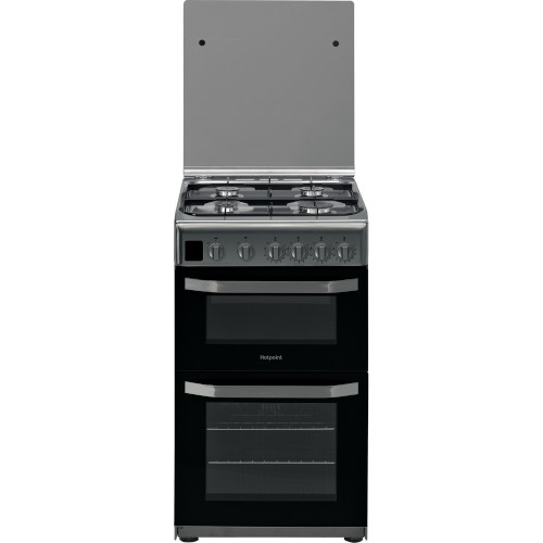 HOTPOINT HD5G00CCX Gas Cooker Stainless Steel