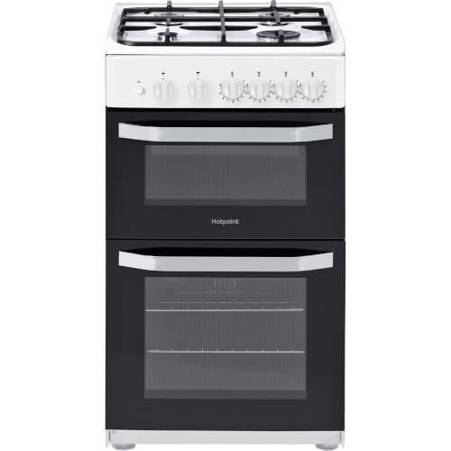 Hotpoint HD5G00KCW Gas Cooker White