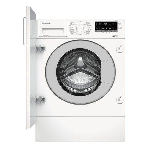 Blomberg LWI284410 8KG 1400 Spin Built-in Washing Machine with Fast Full Load White